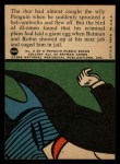 1966 Topps Batman Red Bat #30 RED  Undone by the Umbrella Back Thumbnail