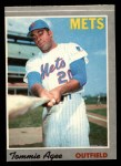 1970 O-Pee-Chee #50  Tommie Agee  Front Thumbnail