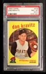 1959 Topps #536  Danny Kravitz  Front Thumbnail