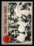 1970 O-Pee-Chee #202   1969 AL Playoff - Summary - Orioles Celebrate Front Thumbnail