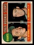 1969 O-Pee-Chee #16   -  Cesar Gutierrez / Rich Robertson Giants Rookies Front Thumbnail