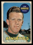 1969 O-Pee-Chee #23  Lew Krausse  Front Thumbnail