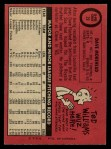 1969 O-Pee-Chee #29  Dave Morehead  Back Thumbnail