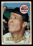 1969 O-Pee-Chee #45  Maury Wills  Front Thumbnail