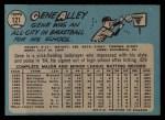 1965 O-Pee-Chee #121  Gene Alley  Back Thumbnail