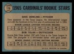 1965 O-Pee-Chee #116  Bobby Tolan  Back Thumbnail