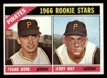 1966 O-Pee-Chee #123   -  Frank Bork / Jerry May Pirates Rookies Front Thumbnail