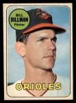 1969 O-Pee-Chee #141  Bill Dillman  Front Thumbnail