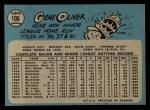 1965 O-Pee-Chee #106  Gene Oliver  Back Thumbnail
