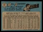 1965 O-Pee-Chee #281  Bill Stafford  Back Thumbnail