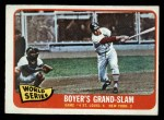1965 O-Pee-Chee #135   -  Ken Boyer / Elston Howard 1964 World Series - Game #4 - Boyer's Grand Slam Front Thumbnail