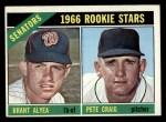 1966 O-Pee-Chee #11   -  Brant Alyea / Pete Craig Senators Rookies Front Thumbnail