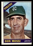 1966 O-Pee-Chee #74  Don Mossi  Front Thumbnail