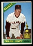 1966 O-Pee-Chee #78  Frank Linzy  Front Thumbnail