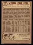 1968 O-Pee-Chee #71  Vern Fuller  Back Thumbnail