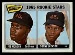 1965 O-Pee-Chee #16   -  Joe Morgan / Sonny Jackson Houston Rookies Front Thumbnail