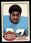 1976 Topps #288  Howard Stevens  Front Thumbnail