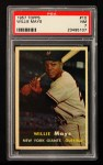 1957 Topps #10  Willie Mays  Front Thumbnail