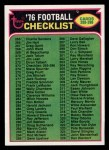1976 Topps #273   Checklist Front Thumbnail
