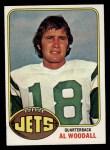 1976 Topps #118  Al Woodall  Front Thumbnail