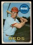 1969 O-Pee-Chee #120  Pete Rose  Front Thumbnail