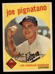 1959 Topps #16  Joe Pignatano  Front Thumbnail