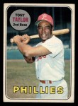 1969 O-Pee-Chee #108  Tony Taylor  Front Thumbnail