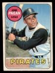 1969 O-Pee-Chee #192  Jose Pagan  Front Thumbnail