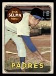 1969 O-Pee-Chee #197  Dick Selma  Front Thumbnail