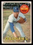 1969 O-Pee-Chee #216  Don Sutton  Front Thumbnail