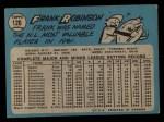 1965 O-Pee-Chee #120  Frank Robinson  Back Thumbnail