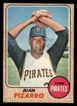1968 O-Pee-Chee #19  Juan Pizarro  Front Thumbnail