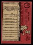 1969 O-Pee-Chee #33  Wayne Causey  Back Thumbnail