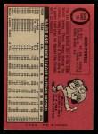 1969 O-Pee-Chee #15  Boog Powell  Back Thumbnail
