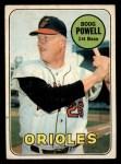 1969 O-Pee-Chee #15  Boog Powell  Front Thumbnail