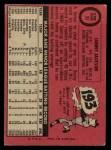 1969 O-Pee-Chee #53  Sonny Jackson  Back Thumbnail