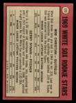 1969 O-Pee-Chee #173   -  Bob Christian / Gerry Nyman White Sox Rookies   Back Thumbnail