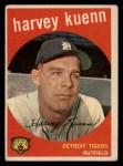 1959 Topps #70  Harvey Kuenn  Front Thumbnail