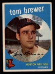 1959 Topps #55  Tom Brewer  Front Thumbnail
