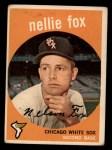 1959 Topps #30  Nellie Fox  Front Thumbnail