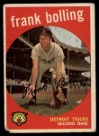 1959 Topps #280  Frank Bolling  Front Thumbnail