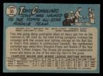 1965 O-Pee-Chee #55  Tony Conigliaro  Back Thumbnail