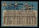 1965 O-Pee-Chee #50  Juan Marichal  Back Thumbnail