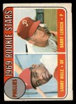 1969 O-Pee-Chee #206   -  Larry Hisle / Barry Lersch Phillies Rookies Front Thumbnail