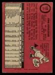 1969 O-Pee-Chee #217  John Donaldson  Back Thumbnail
