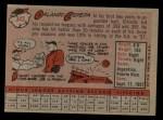 1958 Topps #343  Orlando Cepeda  Back Thumbnail