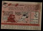 1958 Topps #288  Harmon Killebrew  Back Thumbnail