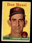 1958 Topps #35 ^WT^ Don Mossi  Front Thumbnail