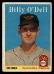 1958 Topps #84  Billy O'Dell  Front Thumbnail