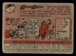 1958 Topps #53 ^WN^ Morrie Martin  Back Thumbnail